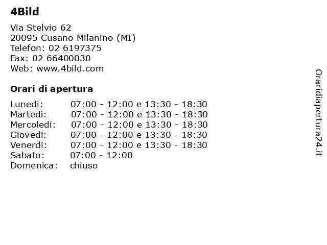 4Bild a Cusano Milanino (MI): indirizzo e orari di apertura