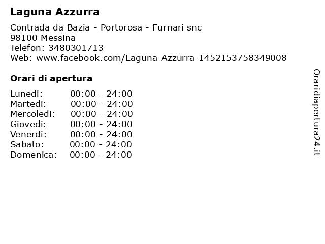 Laguna Azzurra a Messina: indirizzo e orari di apertura