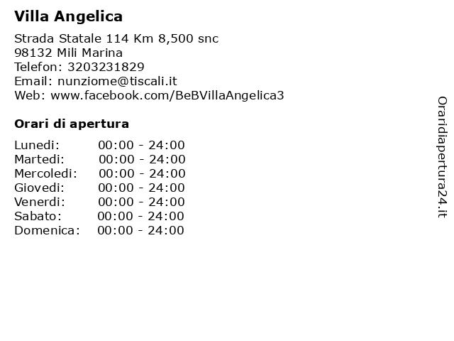 Villa Angelica a Messina: indirizzo e orari di apertura