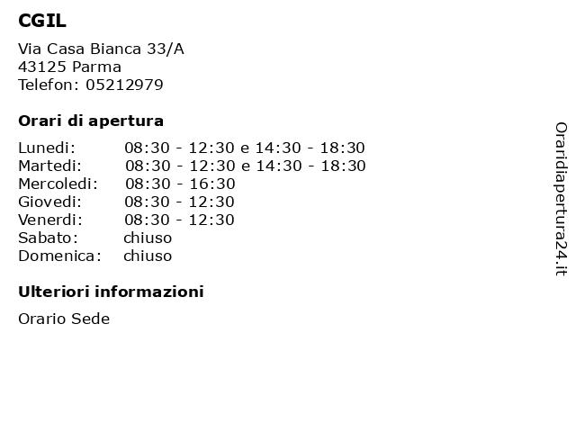 Parma CGIL 358881S