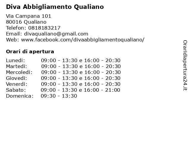 Negozi Abiti Eleganti Qualiano.ᐅ Orari Diva Abbigliamento Qualiano Via Campana 101 80016 Qualiano
