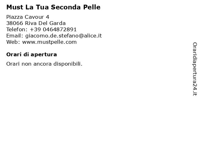 Must La Tua Seconda Pelle a Riva Del Garda: indirizzo e orari di apertura