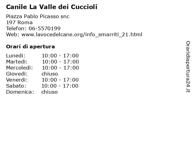 Canile la valle dei cuccioli a Roma: indirizzo e orari di apertura