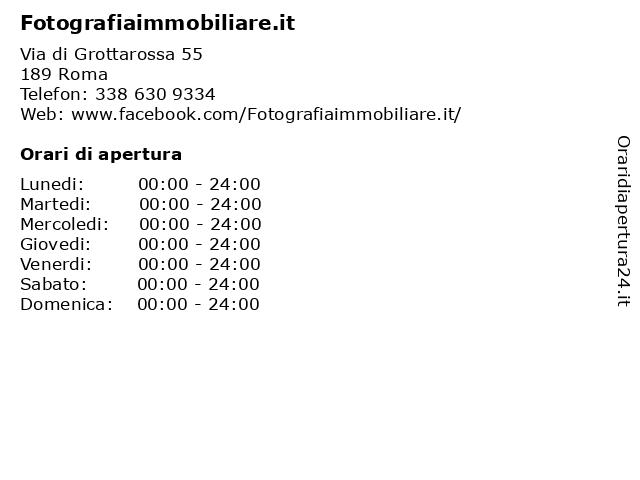 Fotografiaimmobiliare.it a Roma: indirizzo e orari di apertura