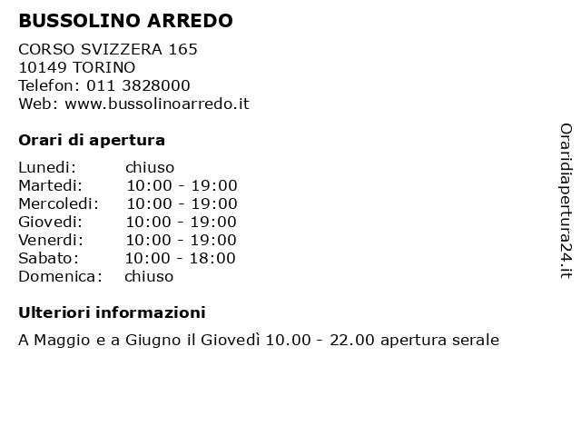 Sae Arredo Bagno Torino.ᐅ Orari Bussolino Arredo Corso Svizzera 165 10149 Torino