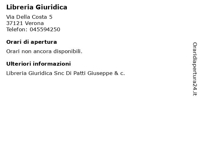 Libreria Giuridica a Verona: indirizzo e orari di apertura